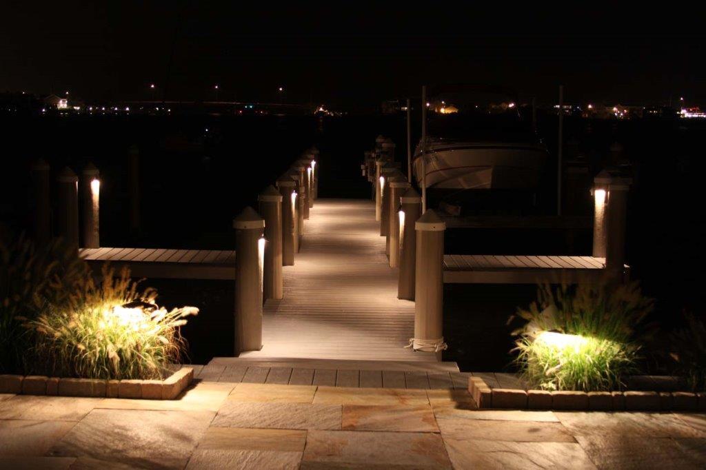 deck grade night htm supply lite dock lights light and aluminum builders marine marina on lighting solar